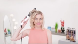 getlinkyoutube.com-How to Style Short Hair with Kiss InstaWave