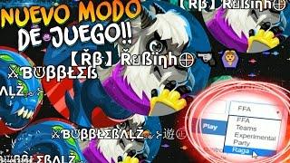 NUEVO MODO de JUEGO en Agar.io!! | Jugando con 200 Minions | Rubinho vlc