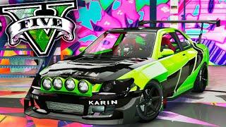 NUEVO KARIN SULTAN SUPER TUNNING!! EPICO DLC LOWRIDERS GTA 5 ONLINE Makiman