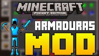 getlinkyoutube.com-Minecraft PE 13.1 - Espadas e ARMADURAS [MOD]