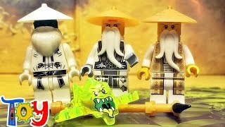 getlinkyoutube.com-decool 레고 닌자고 고스트닌자 마스터 우 사부님 스크리머 미니피규어 중국 짝퉁 lego ghost ninjago master wu