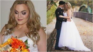 getlinkyoutube.com-Get Ready With Me: Wedding Makeup, Hair & Dress   LoeyLane