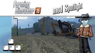 getlinkyoutube.com-Farming Simulator 15 Mod Spotlight - Going Mining!