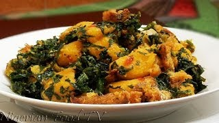 getlinkyoutube.com-Nigerian Plantain Porridge | Nigerian Food TV