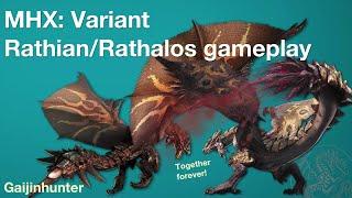 Monster Hunter Generations (MHX): Deviant Rathalos/Rathian