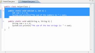getlinkyoutube.com-Java Programming - 38 - Overloaded Methods