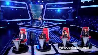 "getlinkyoutube.com-João Correia - ""The Scientist"" Coldplay - The Voice Portugal - Provas Cegas - Season 2"