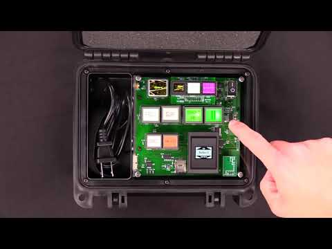 Briefcase Button Board