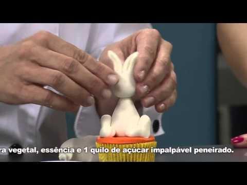 Receitas Bom Sabor 21/02/2014 - Decoração em pasta americana