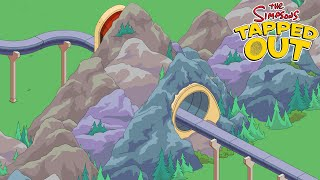 KC Plays! - TSTO | Springfield Heights | MONORAIL TUNNEL