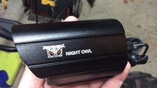 getlinkyoutube.com-Night Owl DVR and 8 camera security system install.