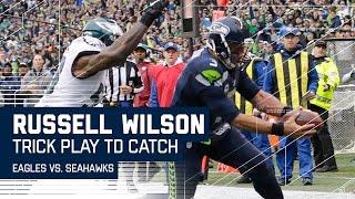 getlinkyoutube.com-Doug Baldwin's TD Pass to Russell Wilson | 🚨Trick Play Alert🚨| Eagles vs. Seahawks | NFL