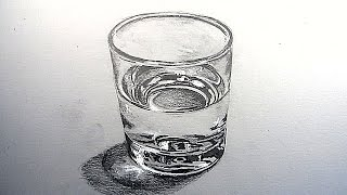 getlinkyoutube.com-How to Draw a Glass of Water: Narrated Step by Step