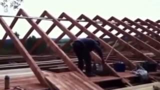 getlinkyoutube.com-DKJovanovic - Gradnja Krova