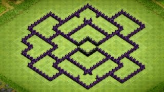 getlinkyoutube.com-Clash Of Clans - Awesome Town Hall 8 Farming Base Speed Build - 2014