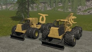 getlinkyoutube.com-Farming Simulator 17 - Tigercat Skidders
