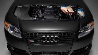 getlinkyoutube.com-ECS Tuning: Audi B7 A4 Kohlefaser Luft-Technik Intake System