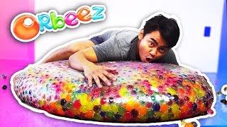 getlinkyoutube.com-WUBBLE BUBBLE GIANT ORBEEZ EXPERIMENT!