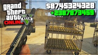 getlinkyoutube.com-GTA 5 Online Million Dollar Mods/Cheat In Next Gen (GTA 5 Bounty Glitch?) GTA V PS4 Gameplay!