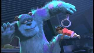 getlinkyoutube.com-Monster vs Baby - Monsters Inc
