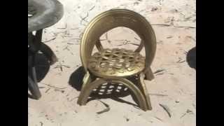 getlinkyoutube.com-Кресло из покрышек своими руками. Мебель для дачи