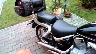 getlinkyoutube.com-Suzuki Intruder 125 - prawie puste wydechy -  turned out pipes