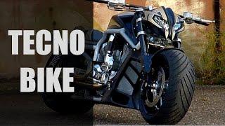 "getlinkyoutube.com-Harley-Davidson V-Rod ""StreetFighter"" by Tecno-Bike | Motorcycle Street Fighter Custom Bike"