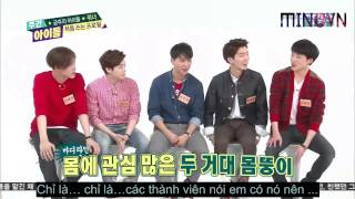 getlinkyoutube.com-[VIETSUB][MINOVN]141022 Weekly Idol Winner Ep169