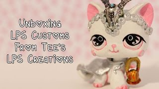 getlinkyoutube.com-Unboxing four gorgeous customs from Tees LPS Creations!