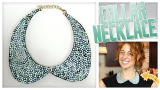 DIY Peter Pan (Collar) Necklace! - Do It, Gurl