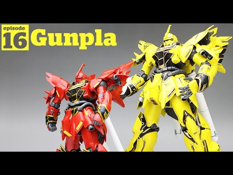 Gunpla - Episode 16 - 1/144 HGUC Sinanju Gundam - Building - Tutorial