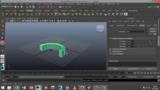 Maya 2014 tutorial :Bending objects in Autodesk Maya