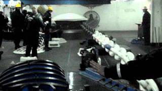 getlinkyoutube.com-USS George Washington (CVN 73) dropping anchor to the red shot