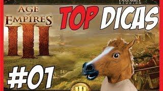getlinkyoutube.com-Age of Empires 3 - TOP DICAS 01, Teclas de Atalho, Frescuras, Exploração