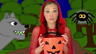 getlinkyoutube.com-Halloween Songs for Children and Kids - Ten Scary Steps