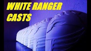 getlinkyoutube.com-CRAFTING THE HELMETS, HOW I CREATE THE WHITE RANGER CASTS