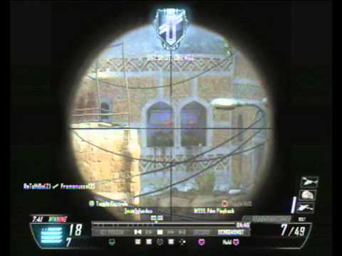 VTOL warship 32 kilstreak with my sniper class yemen bo2