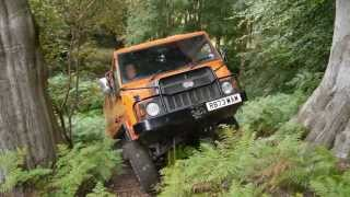 getlinkyoutube.com-Pinzgauer 718 and Land Rover SIII at Ash 4x4