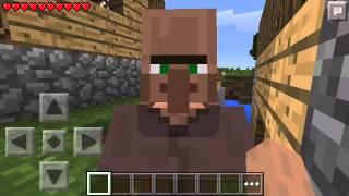 getlinkyoutube.com-[Minecraft PE] : วิธีหาหมู่บ้านNPC/การโกงของแบบไม่ต้องลงมอด