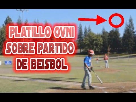 OVNI platillo sobre partido de beisbol. Videos de OVNIS reales 2014 Septiembre