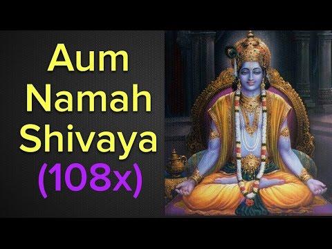 Aum Namah Shivaya Mantra Meditation 108x