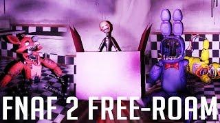Overnight 2 | BONNIE IS A CREEPER! | FNaF 2 Free-Roam (Fan-Made)
