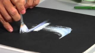 getlinkyoutube.com-The Joy of Crafting Show 200/1 - One Stroke Waterfall painting