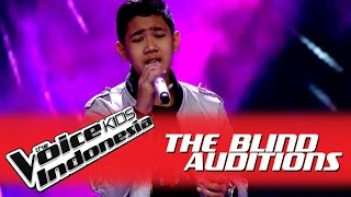 "getlinkyoutube.com-Rafi ""Love of My Life"" I The Blind Auditions I The Voice Kids Indonesia GlobalTV 2016"