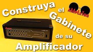 getlinkyoutube.com-Como hacer una caja o gabinete para su amplificador