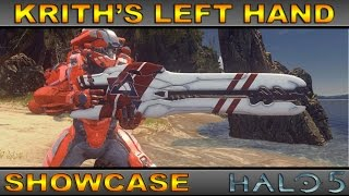 Krith's Left Hand - Legendary Weapon Showcase - Halo 5 Guardians