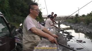 getlinkyoutube.com-泳泓釣具-舊濁水溪出海口 釣吳郭魚