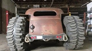 getlinkyoutube.com-Rat Rod 4x4 build