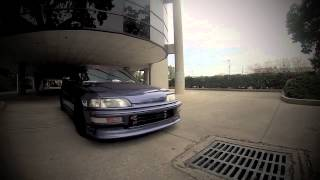 getlinkyoutube.com-90 EF B20 Vtec Civic Hatch Killacam Orlando Street Cruiser