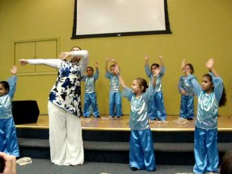 dança e coreografia gospel